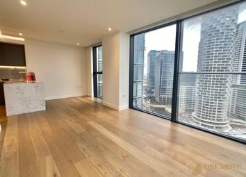 Thumbnail 2 bed flat to rent in Hampton Tower, South Quay Plaza, London