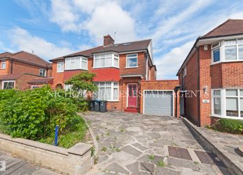 Thumbnail 4 bed semi-detached house to rent in Londsdale Drive, Enfield