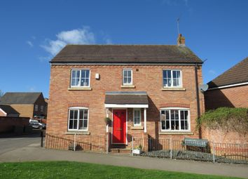 Thumbnail 3 bed detached house for sale in Wake Way, Grange Park, Northampton
