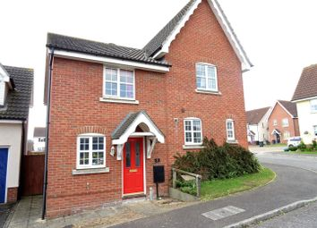Thumbnail 2 bedroom property for sale in Nightingale Close, Stowmarket