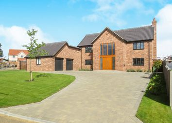 Thumbnail 4 bedroom detached house for sale in Highview, Sporle, King's Lynn