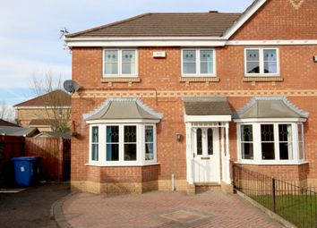 Thumbnail 3 bed semi-detached house to rent in Chendre Close, Pendlebury, Swinton, Manchester