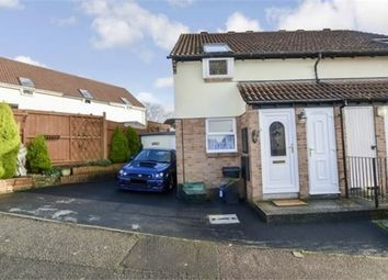 Thumbnail 2 bed semi-detached house for sale in Howards Way, Newton Abbot, Devon.