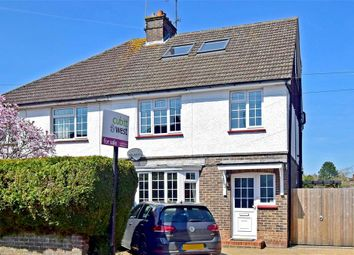Thumbnail 4 bed semi-detached house for sale in Hurst Avenue, Horsham, West Sussex