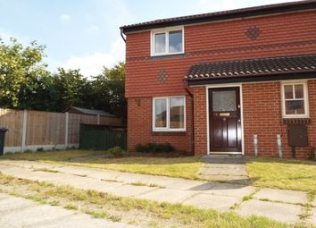 Thumbnail 2 bed semi-detached house to rent in Leveret Close, Chellaston, Derby