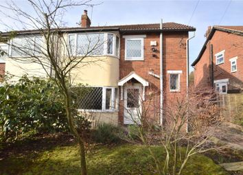 Thumbnail 3 bed semi-detached house for sale in Grove Rise, Leeds, West Yorkshire