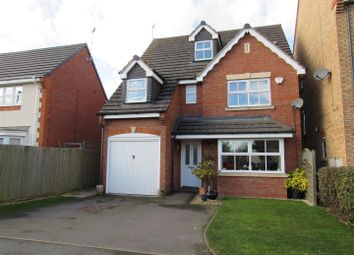 Thumbnail 5 bed detached house for sale in Parnell Close, Littlethorpe, Leicester