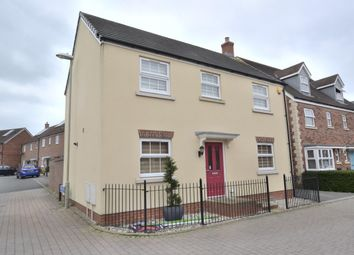 Thumbnail 3 bed detached house for sale in Bampton Castle Way, Kingsway, Quedgeley