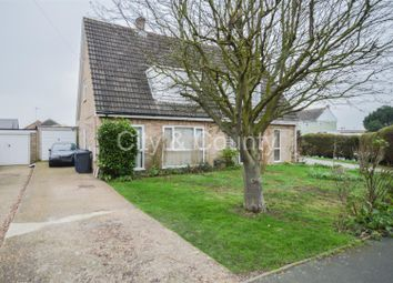 Thumbnail 3 bed semi-detached house for sale in Newton Road, Sawtry, Huntingdon