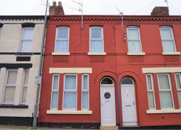Thumbnail 3 bed terraced house for sale in Luton Grove, Liverpool