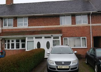 Thumbnail 3 bed terraced house to rent in Alwold Road, Selly Oak