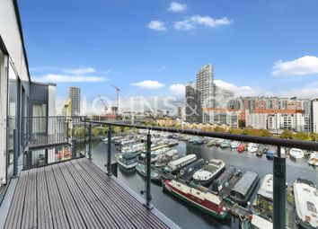 Thumbnail 3 bedroom flat to rent in Boardwalk Place, London