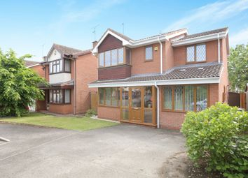 Thumbnail 4 bed detached house for sale in Howcroft Green, Great Meadow, Worcester