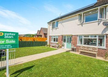 Thumbnail 2 bed flat for sale in Heol Johnson, Talbot Green, Pontyclun