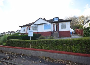 Thumbnail 4 bed semi-detached bungalow for sale in Merryburn Avenue, Giffnock, Glasgow