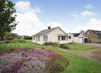Thumbnail 3 bed detached bungalow for sale in Potter Heigham Road, Catfield, Great Yarmouth