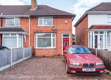 Thumbnail 2 bed end terrace house for sale in Birdbrook Road, Great Barr