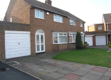 Thumbnail 3 bed semi-detached house for sale in Addison Grove, Wednesfield, Wolverhampton