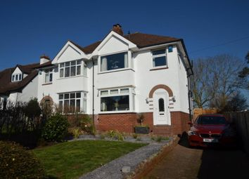 Thumbnail 3 bedroom semi-detached house for sale in Warwick Road, Heavitree, Exeter