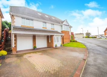 Thumbnail 5 bed detached house for sale in Bramblewood Court, Pengam, Blackwood