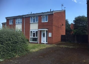 Thumbnail 3 bed semi-detached house for sale in Catisfield Crescent, Pendeford, Wolverhampton, West Midlands