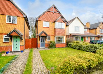 Thumbnail 4 bed detached house for sale in Stephenson Close, Royston