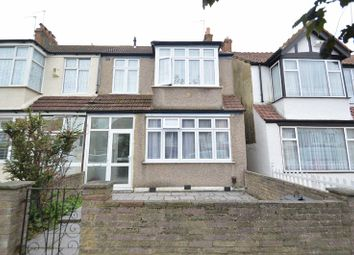 Thumbnail 3 bed end terrace house to rent in Manor Road, Mitcham