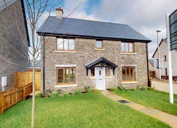 Thumbnail 4 bed detached house for sale in Castle Road, Llangynidr, Crickhowell