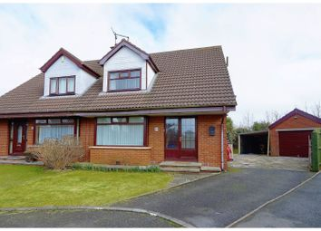 Thumbnail 3 bed semi-detached house for sale in Manse Court, Newtownards