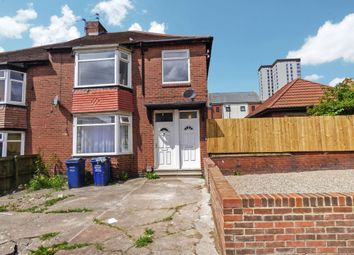 Thumbnail 3 bed flat for sale in Axbridge Gardens, Newcastle Upon Tyne
