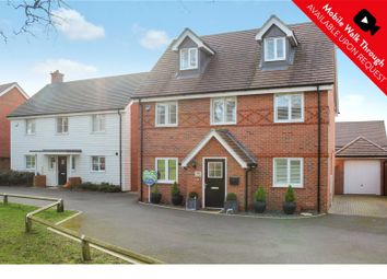 Thumbnail 4 bedroom detached house for sale in Rana Drive, Church Crookham, Fleet, Hampshire