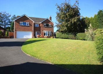 Thumbnail 4 bed detached house for sale in Newcastle Road, Talke, Stoke-On-Trent