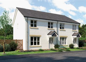 "Thumbnail 3 bed semi-detached house for sale in ""Munro"" at Stevenston Street, New Stevenston, Motherwell"