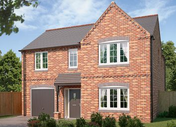 "Thumbnail 4 bed detached house for sale in ""The Norbury"" at Bowbridge Lane, New Balderton, Newark"