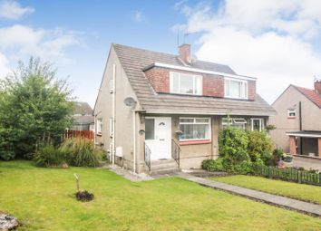 Thumbnail 3 bed semi-detached house for sale in Lunan Drive, Glasgow