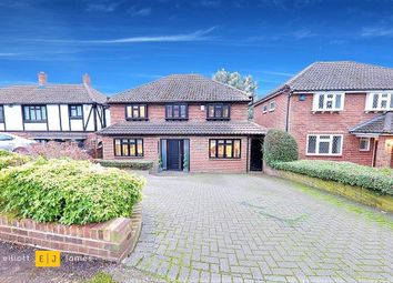 Thumbnail 4 bed detached house to rent in Broadstrood, Loughton