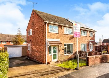 Thumbnail 3 bed semi-detached house for sale in Bennett Close, Rawmarsh, Rotherham