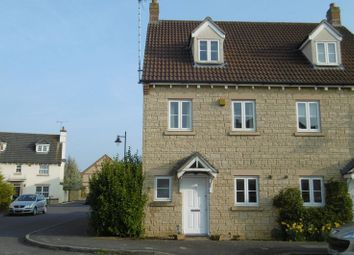 Thumbnail 4 bedroom town house to rent in Bream Close, Calne