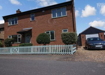 Thumbnail 4 bed detached house for sale in Staploe, St. Neots