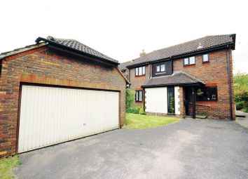 Thumbnail 4 bedroom detached house for sale in Churchfields, Fawley, Southampton