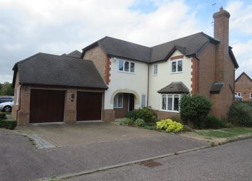 Thumbnail 5 bedroom detached house for sale in Sheepcoat Close, Shenley Church End, Milton Keynes