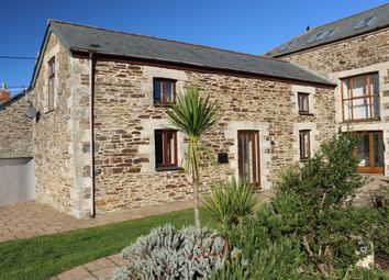 Thumbnail 3 bed barn conversion for sale in Trenance, Mawgan Porth