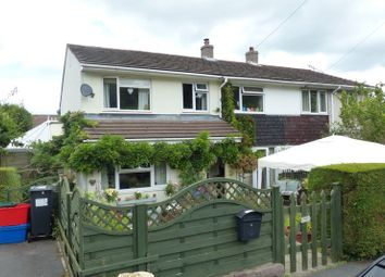 Thumbnail 4 bed semi-detached house for sale in Cae Porth, Llangynidr, Crickhowell