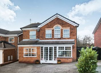 Thumbnail 4 bed detached house for sale in Partridge Close, Huntington, Cannock