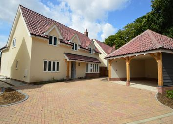 Thumbnail 4 bedroom detached house for sale in The Street, Sturmer, Haverhill
