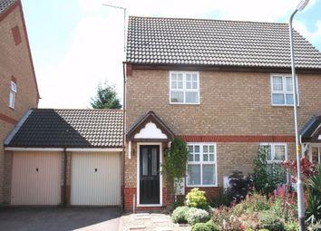 Thumbnail 2 bedroom semi-detached house to rent in Muncaster Gardens, East Hunsbury, Northampton