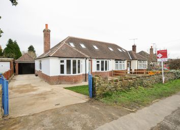 Thumbnail 3 bed semi-detached bungalow for sale in Queen Mary Road, Chesterfield