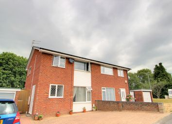 Thumbnail 3 bed semi-detached house for sale in Verity Crescent, Poole