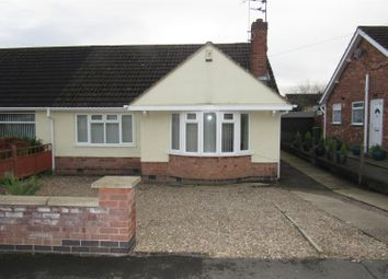 Thumbnail 2 bed semi-detached bungalow for sale in Sussex Road, Wigston