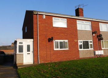 Thumbnail 2 bedroom flat for sale in Blenheim Drive, Bedlington